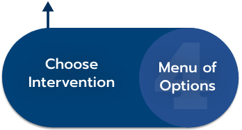 4 - Menu of Options: Choose Intervention