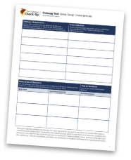 Using Group Contingencies - Strategy Tool